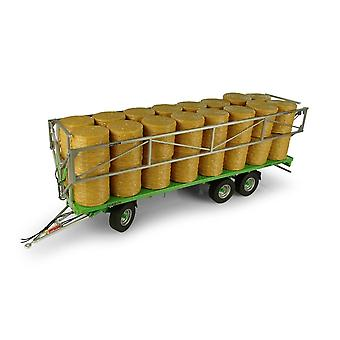 Joskin Wago TR10000 T20 Trailer with 32 Bales Diecast Agricultural Equipment