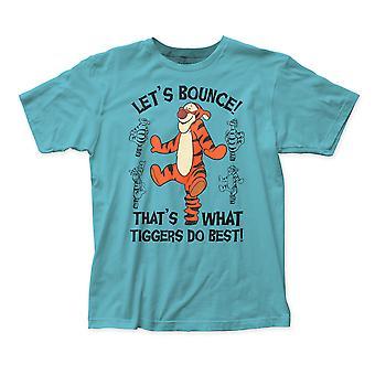 Winnie The Pooh Men's Teal Tigger T-Shirt