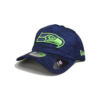 New Era Seattle Seahawks Engineered Fit Aframe Cap in Night Shift Navy