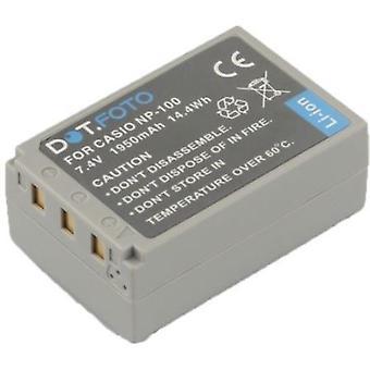 Dot.Foto Casio NP-100 bateria - 7.4 v / 1950mAh