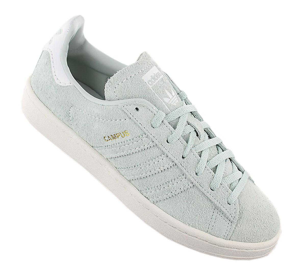 adidas Originals Campus Leather W B37937 Women's Shoes Green Sneakers Sports Shoes