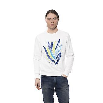 Sweatshirt Blanc Bagutta homme