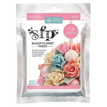 Squires køkken SFP sukker Blomsterhandler pasta slik pink 200g