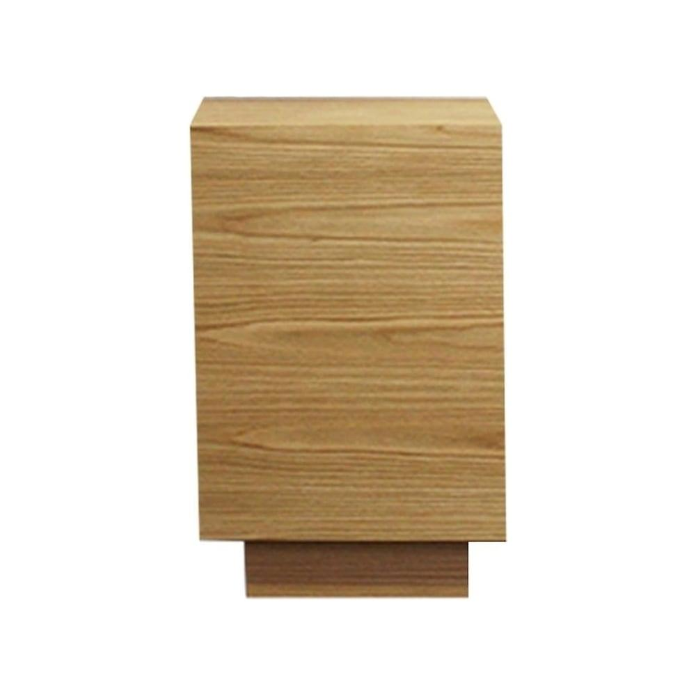 Fusion Living Contemporary Oak Side Table