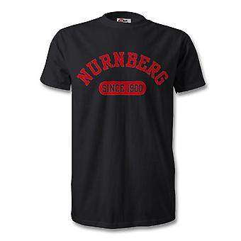 Nurnberg 1900 gegründet Fussball T-Shirt