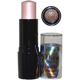 Maybelline Pixie Kollektion Master Strobing Stick Highlighter 9g mittlere Nude Glow #200