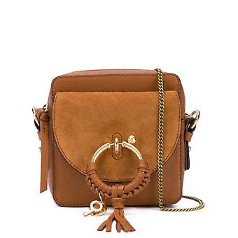 See By Chloé Chs19ss994330242 Women's Brown Leather Shoulder Bag