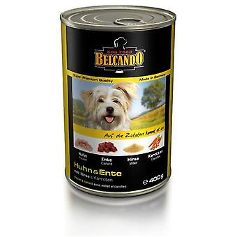 Belcando Chicken & duck with millet and carrots (Dogs , Dog Food , Wet Food)
