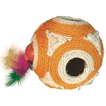 Arquivet Orange Ball 11,5cm (Cats , Toys , Balls)