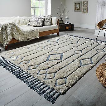 Solitaire Sion tapijten In natuurlijke eend ei door Luxmi