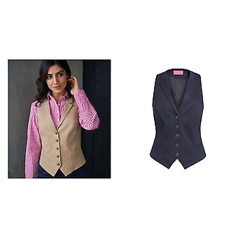 Brook Taverner Womens/Ladies Charlotte Chino Waistcoat