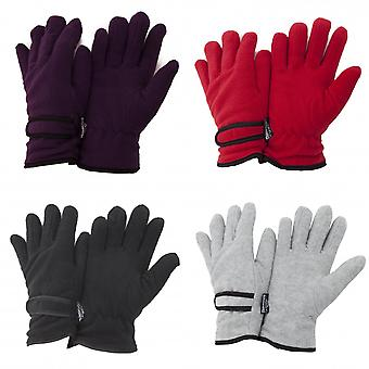 FLOSO Ladies/Womens Thinsulate Fleece Thermal Gloves (3M 40g)
