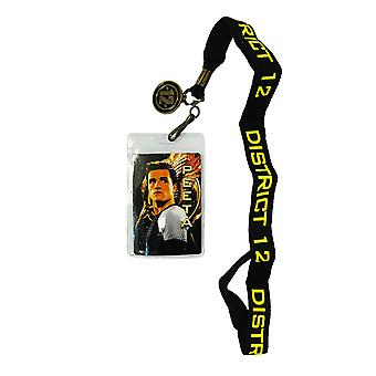 Hunger Games Catching Fire District 12 Peeta Design Lanyard