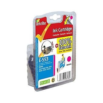 Inkrite NG Printer Ink for Epson R240 R245 RX420 RX425 RX520 - T055340 Magenta (Duck)