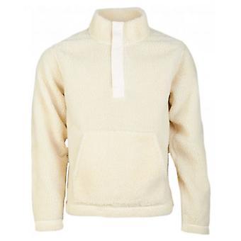 Albam Curley Snap Hals Pullover Fleece