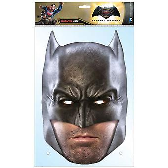Batman Dawn of Justice Ben Affleck Single Card Party Fancy Dress Mask