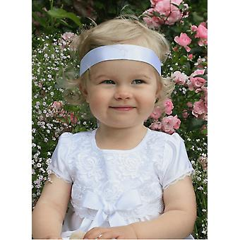 Headband With White Cross For Orthodox Baptism - Grace Of Sweden
