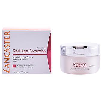 Creme anti-envelhecimento do dia Correção total da idade Lancaster Spf 15 (50 ml)