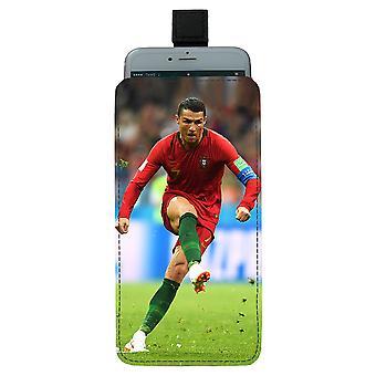 Cristiano Ronaldo 2018 Universele mobiele tas