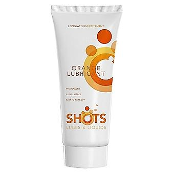 Shots Orange Lubricant with Water Base 100 ml