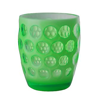 Mario Luca Giusti Lente Short Plastic Tumbler Green Fluo