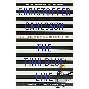 The Thin Blue Line by Christoffer Carlsson - 9781911617211 Book