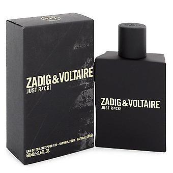 Just Rock Eau De Toilette Spray By Zadig & Voltaire 1.6 oz Eau De Toilette Spray