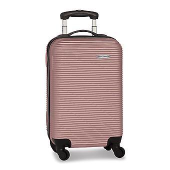Fabrizio Worldpack Swift Handbagage Trolley S voor dames, 4 wielen, 55 cm, 31 L, Roze