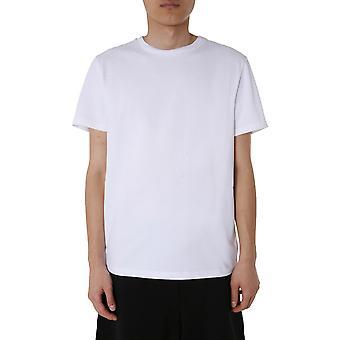 Moschino 071070380001 Männer's weiße Baumwolle T-shirt