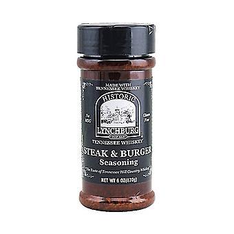 Historické Lynchburg Steak & Burger Koření