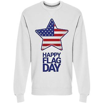 Feliz Dia da bandeira. Star Flag Moletom Men's -Imagem por Shutterstock