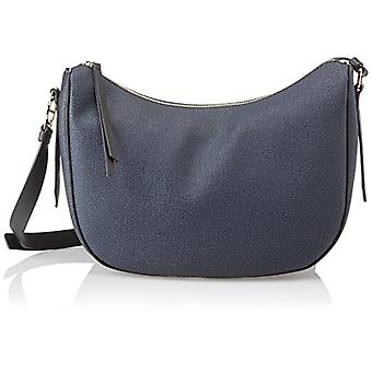 Borbonese Moon Blue Women's Shoulder Bag 26x25x12 cm (W x H x L)