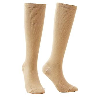 Comfortable Compression Stockings - Beige