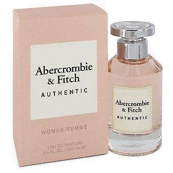 Abercrombie & Fitch Authentic Eau De Parfum Spray By Abercrombie & Fitch 3.4 oz Eau De Parfum Spray