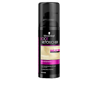 Syoss Root Retoucher Retoca Raices Spray #rubio Claro 120 Ml For Women