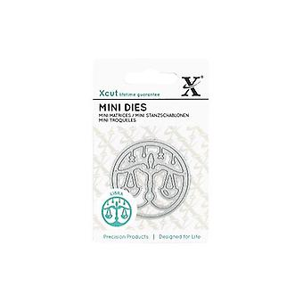Xcut Mini Cutting Die Zodiac Sign Libra