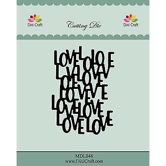 Dixi Craft Love Background Dies