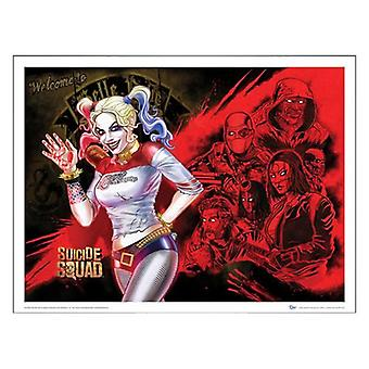 Poster DC Comic Suicide Squad Harley's Heroes Zombie Yeti dcc-0159