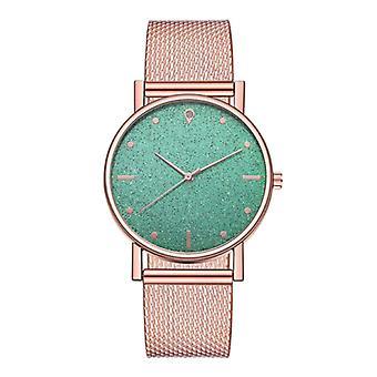 HEZHUKEJI Watch Quartz Ladies - Luxury Anologue Movement for Women Green