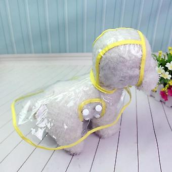 Waterproof Transparent Raincoats Dog Raincoat Spring Summer Rain Coats Dog Light Clothes Pet Accessories Puppy Rain