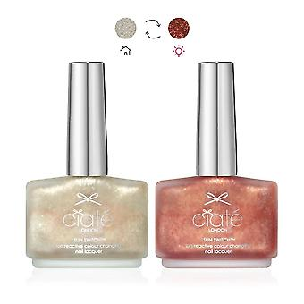 Ciate Sun Switch Nail Polish - Treasure Chest 13.5ml (PP332_KM)