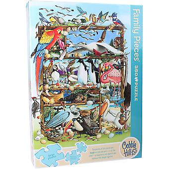Cobble hill - birds of the world - family 350 pc puzzle