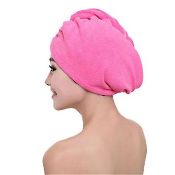 Microfibre After Shower Hair Drying Wrap - Womens Girls Lady's Quick Dry Hair Towel