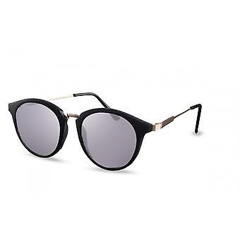 النظارات الشمسية Unisex بانتو Cat.3 مات الأسود / الرمادي (CWI1581)