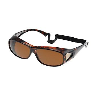 Sunglasses Unisex Sport Brown with Brown Lens VZ0016B
