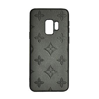 Phone Case Shockproof Cover Monogram GG For Samsung S9 (Grey)