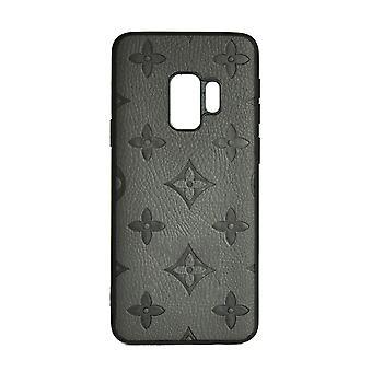 Boîtier de téléphone Shockproof Cover Monogram GG Pour Samsung S9 (Gris)