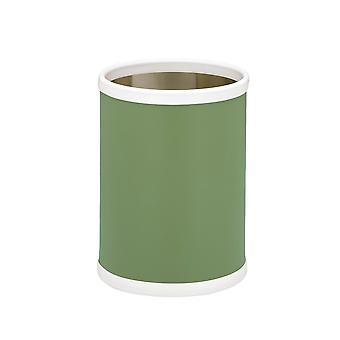 Mist Green 10.75 Inches Rd. Waste Basket