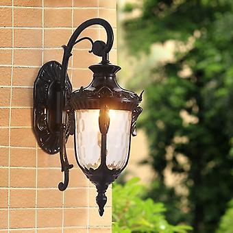 Wodoodporna i bezpieczna lampa ścienna do ogrodu, drzwi i ganku