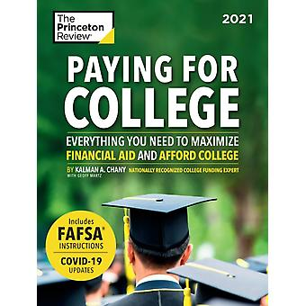 Paying for College 2021 by Princeton Review